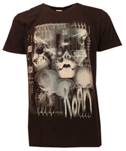 t-shirt NERA KORN maglietta originale -spedita da T-shirteria- XS S M L XL