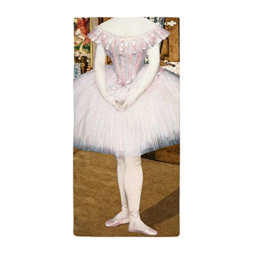 CafePress-Pretty Ballerina-Große Strandtuch, weiche 76,2x 152,4cm Handtuch mit Einzigartiges Design (Island Girl Kostüm)