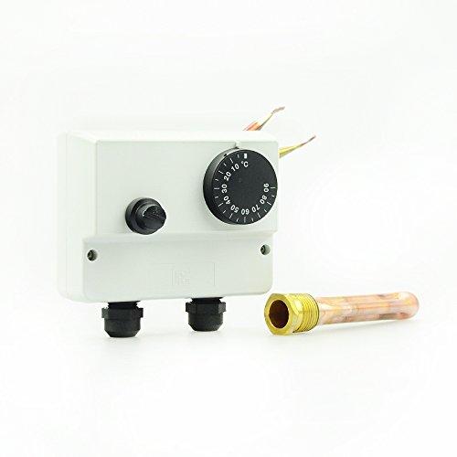 WIPEX doppelthermostat avec limiteur de température de sécurité
