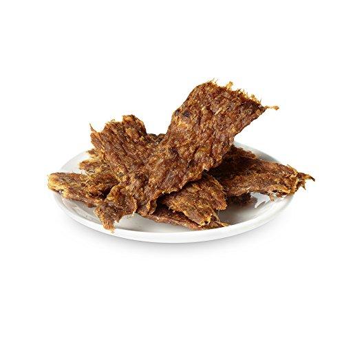 BARF für Hunde, Hundesnack, Trockenfleisch Entenbrustfilet Hunde 100g | PETS DELI | gesunder Snack für Hunde und Katzen, 100% pures Premium-Fleisch, luftgetrocknet - 2