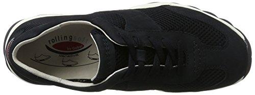 Gabor Ladies Rollingsoft Sneaker Blue (nightblue 46)