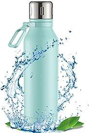 Cocoda Borraccia Termica, Bottiglia Termica Isolata Sottovuoto da 700 ml con Manico Regolabile, 12 Ore Calde o