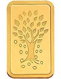 Kundan 8 gm, 24k(999.9) Yellow Gold Kalpataru Tree Precious Coin