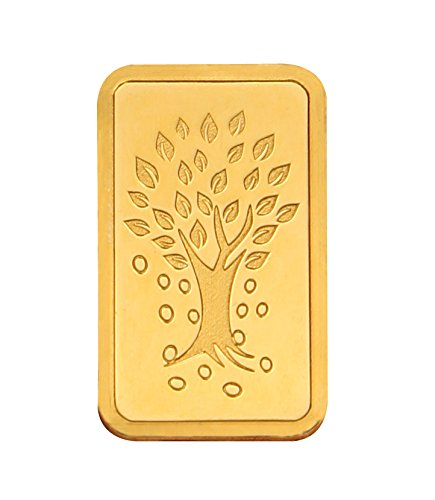 Kundan 20 gm, 24k(999.9) Yellow Gold Kalpataru Tree Precious Coin