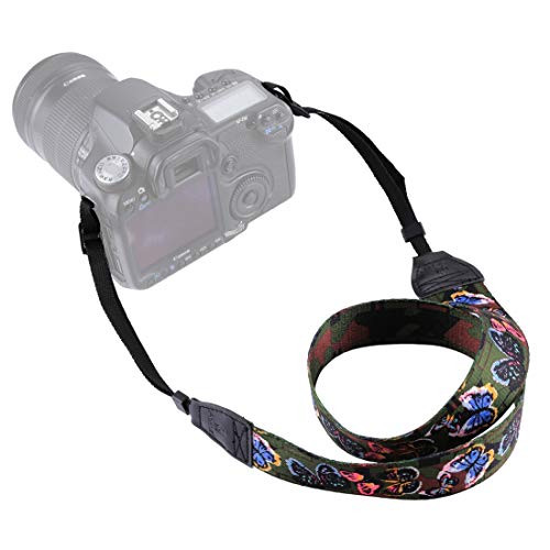 Movoja Kameragurt Butterfly | Universal DSLR Kamera SLR Tragegurt Schultergurt für Nikon Canon...