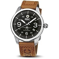 RSC1306, P-51 Mustang, RSC Pilot's Watches, Vintage, Citizen Mov., Aviation, Air Force
