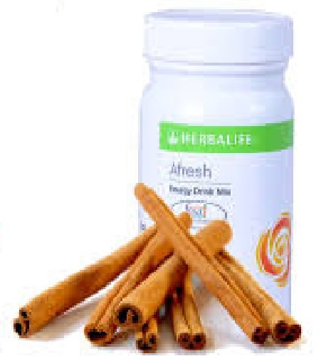 herbalife Afresh Energy Drink Mix -Cinnamon- 50gms  available at amazon for Rs.498