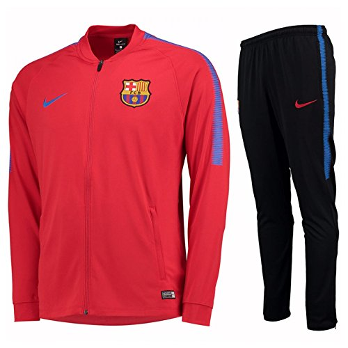 Nike performancefc Barcelona Dry Squad – Anzug – University red/Soar