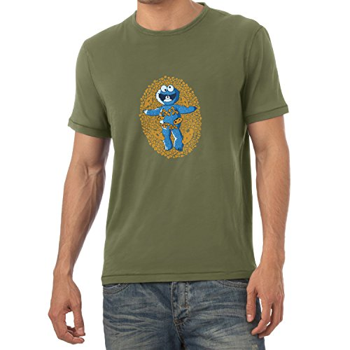 TEXLAB - American Cookie - Herren T-Shirt Oliv