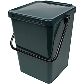 large compost caddy green for food waste recycling 23. Black Bedroom Furniture Sets. Home Design Ideas