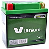 V LITHIUM - 34354 : Bateria De Litio V Lithium Lib12 (Impermeable + Indicador De Carga)