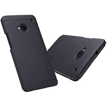 Nillkin Super Frosted Shield Matte Hard Back Cover Case For HTC ONE M7 - Black