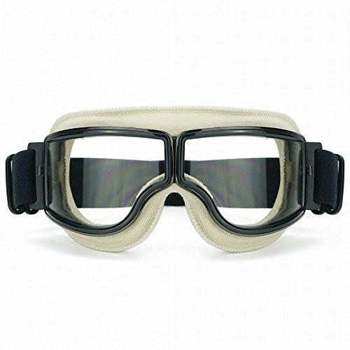 Heinmo motocross aviator occhiali moto scooter sci retro del casco occhiali per harley t13