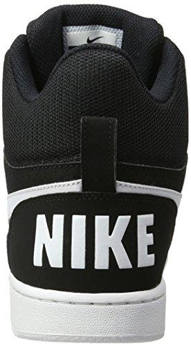 Nike Borough Mid Basketballschuhe Blanco White Nike Court Herren Herren Black vIdqqg