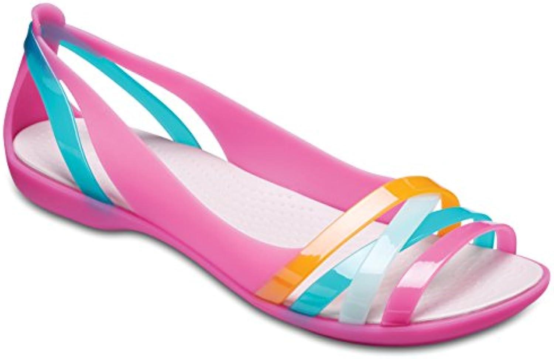 Crocs Isabella Huarache II Flat donna, Ballerine Punta Aperta Donna | Economici Per  | Scolaro/Ragazze Scarpa