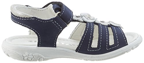 Ricosta Chica, Sandales  Bout ouvert fille Blau (nautic)