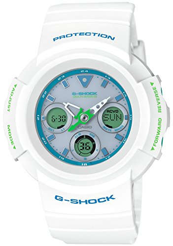 De CASIO A montre G-SHOCK Radio solaire : AWG-M510SWG-7AJF hommes.