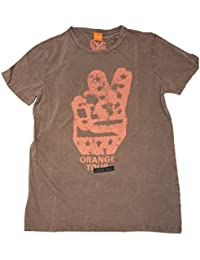 BOSS Orange T SHIRT THANDO 2 FARBE GRAU 511 GR: XL