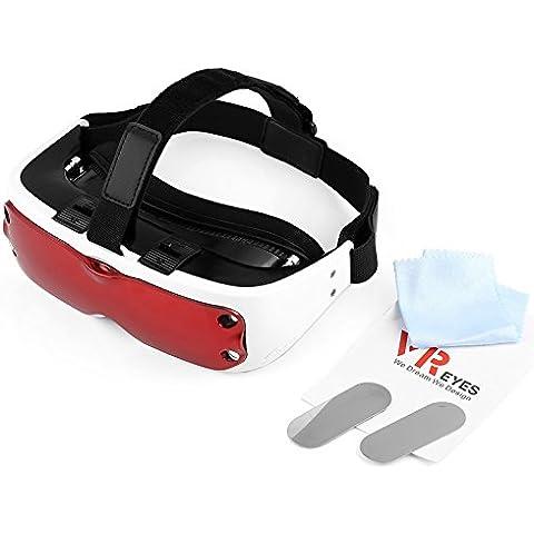 VERY100vr-eyes V13d scatola Occhiali Rosso gioco Cuffia 360visualizzazione di realtà virtuale