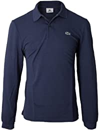 Lacoste - L1312-00 - Polo - Uni - Col polo - Manches Longues - Homme