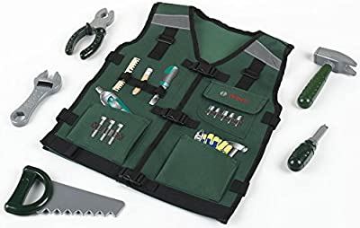 Bosch - Chaleco para herramientas con accesorios (Theo Klein 8568)