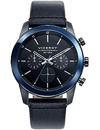 Viceroy Reloj Cronógrafo para Hombre de Cuarzo con Correa en Cuero 46725-57