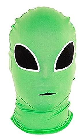 Morphsuits MMPAL - Morphmaske Alien (Groß Nation-kostüm Für Erwachsene)