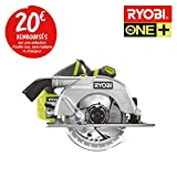 Scie circulaire brushless RYOBI 18 V OnePlus 60mm - sans batterie ni chargeur...