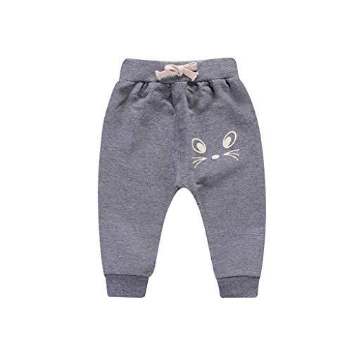 i-uend Neue 2019 Baby Hosen - Kinder Kinder Jungen Cartoon Vogel Zunge Harem Hosen Hosen Hosen für 1-5 Jahre (6-12 Months, Grau1)