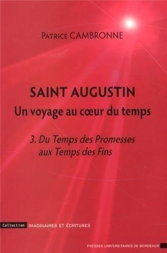 Saint Augustin, un voyage au coeur du temps : Tome 3, Du Temps des Promesses aux Temps des Fins