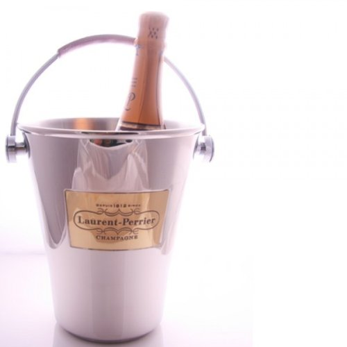 Champagnerkühler mit Ledergriff (1 Flasche) - Champagne Laurent Perrier