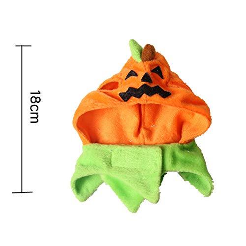 BonTime Halloween Pet Products Karneval Ghost Festival Hund Hut Katze Zubehör Unfug Kürbis Hut