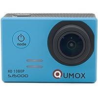 QUMOX SJ5000, Azione fotocamera Sport, blu, macchina
