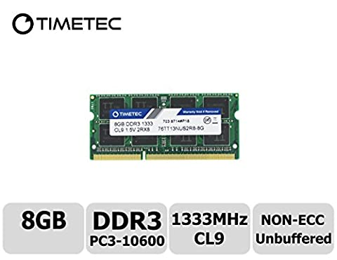 Timetec Hynix IC 8GB DDR3 1333MHz PC3-10600 Unbuffered Non-ECC 1.5V