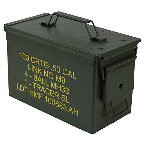 Usato, HMF 70011 Cassa per le Munizioni in stile militare usato  Spedito ovunque in Italia