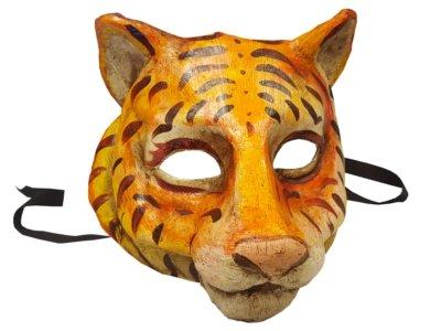 Sensational Einzigartige Tiger Tigress Animal venezianischen Full Face Maske