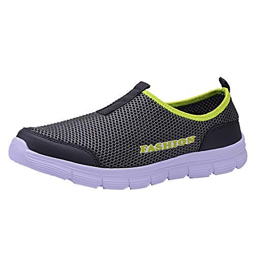 Ears Männer Sportschuhe Bequem Leichte Schuhe Gym Breathable Boots Hiking Schuhe Espadrilles Sneakers leichte Turnschuhe atmungsaktives Mesh Freizeitschuhe Walking Outdoor Sportschuhe