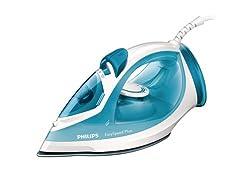 Philips GC2040/70 EasySpeed Plus Dampfbügeleisen (2100 W, Anti-Kalk) weiß