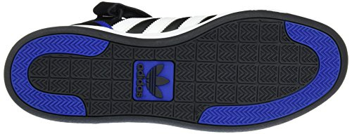 adidas Herren Varial Mid Skaterschuhe Black (Negbas / Ftwbla / Reauni)