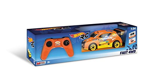 Hot Wheels - Voiture Radio Control 1 : 24, 38 cm (Mondo 63310)