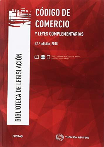 Código de comercio y leyes complementarias (Biblioteca de Legislación) por Mª Luisa Aparicio González