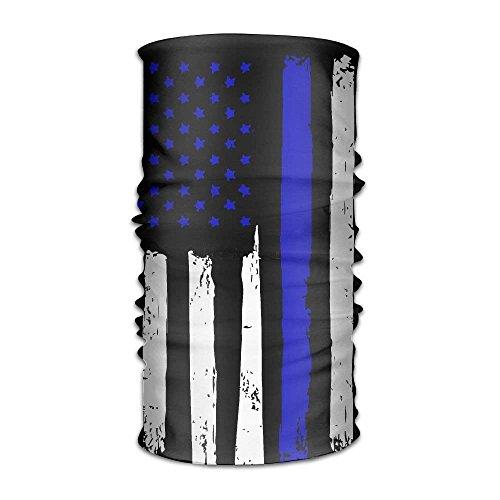 New Shorts Unisex Vertical Stripes The American Flag Multifunctional Bandanas Sweatband Elastic Turban Headwear Headscarf Beanie Kerchief Stripe Short Beanie