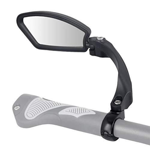 Fahrrad Rückspiegel, Lenker-Fahrradspiegel, HD, schlagfest, Glaslinse, Verstellbar, 360° Drehungsüberprüfung, für Fahrzeugqualität, Fahrradspiegel SPY Space