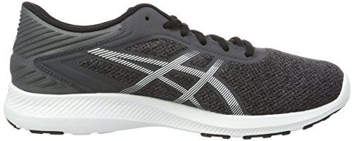 ASICS Performance Herren Laufschuhe Silber (dark Steel/white/black)