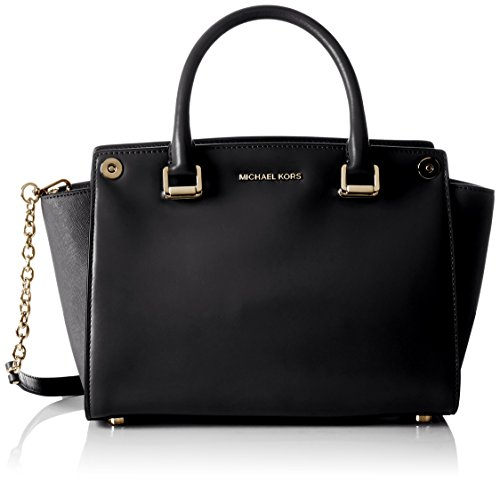 Michael Kors  Selma Swap, Cartable femme - noir - Schwarz (Black),