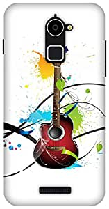 The Racoon Grip printed designer hard back mobile phone case cover for Coolpad Note 3 Lite. (Colours Of)