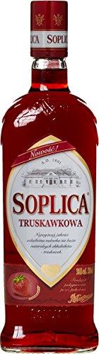 erdbeerlikoer Soplica Erdbeer Truskawkowa/Czarna Porzeczka aus Polen (1 x 0.5 l)