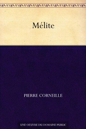 Couverture du livre Mélite