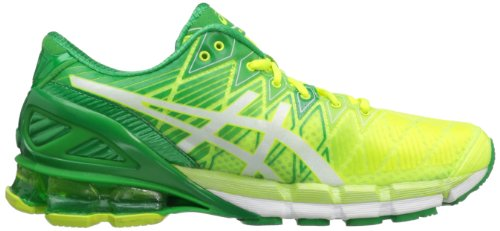 Asics , Chaussures de running pour homme - Flsh Yllw/Wht/Grn