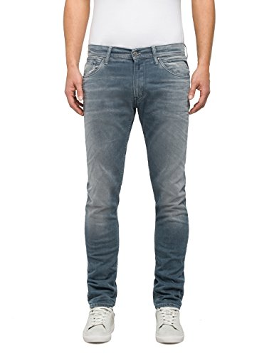 Replay Herren Skinny Jeans Jondrill Blau (Light Blue Denim 9)
